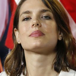 Charlotte Casiraghi in campagne Gucci