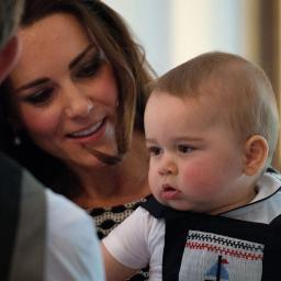 'Prins George best geklede lid Britse koninklijke familie'