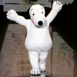 Internationale ontwerpers eren 65e verjaardag Snoopy