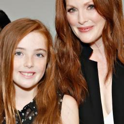 Julianne Moore samen met dochter in Vogue