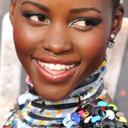 Lupita Nyong'o ziet Alek Wek als beautyvoorbeeld