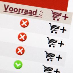 Bezoek online supermarkt neemt toe